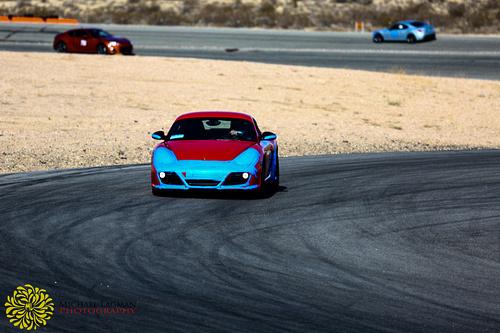 Porsche on the hunt