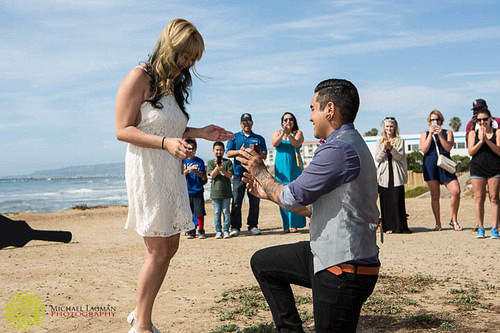 Cesar proposes to Edelen...