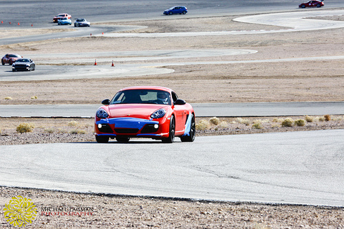 Porsche on The Streets of Willow Springs