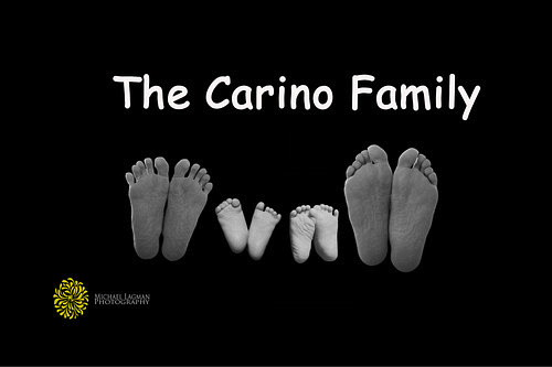 I did a newborn composite photoof the Carino Family in San Diego