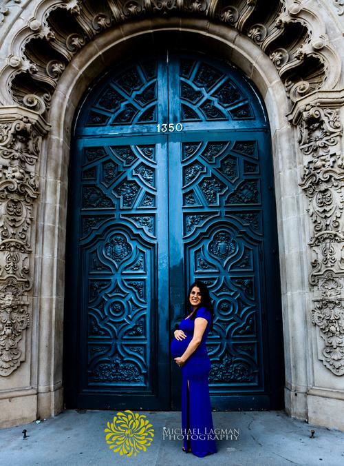 Stunning maternity photos in Balboa Park
