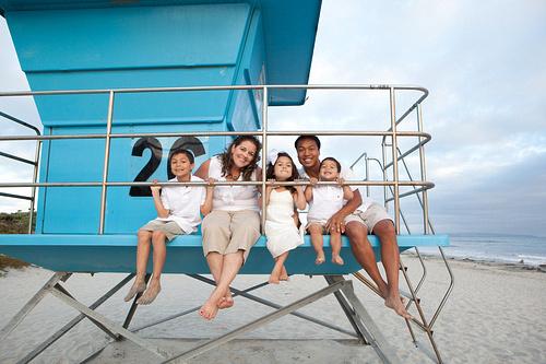 family photo session in coronado