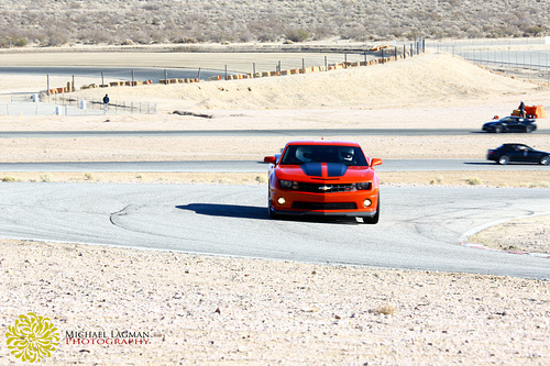 Coming out of the Bowl Turn at the Streets of Willow Springs