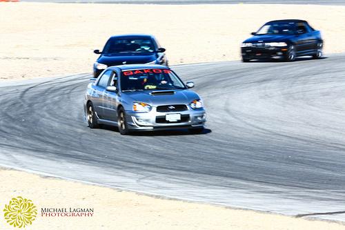 Subaru at Willow Springs
