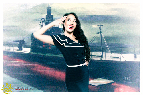 Modern Pinup done by Michael Lagman photography